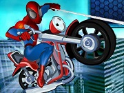 Spiderman Riding